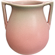 Rookwood Pottery Production Vase #63, Pink Mat, 1928