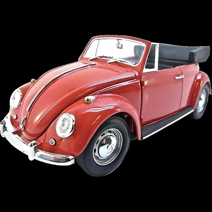 Franklin Mint 1967 Volkswagen Beetle Cabriolet, 1:24 Scale