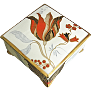 Rosenthal Art Deco Hand Painted Trinket Box, 1935