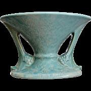 "Roseville Pottery Tuscany Vase #67-4"", Green, Ca. 1928"