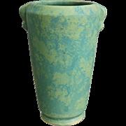"""Weller Pottery Mottled Matte 8"""" Vase, c. 1930"""