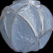 "Consolidated Martele' ""700 Line"" 7"" Vase, Blue Wash, c 1926"