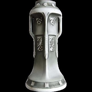 Royal Wettina Secessionist Bisque Vase, c. 1910