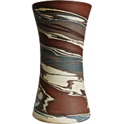 "Niloak Pottery Missionware 6"" Vase, c. 1930"