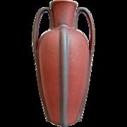 """Van Briggle Pottery 12"""" Vase, Persian Rose, c. 1950"""