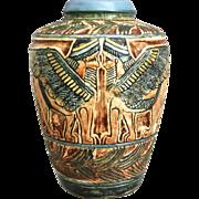 """Rare Weller Pottery Lebanon 6"""" Vase, c. 1910"""