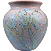 "Rookwood Pottery Decorated Mat 7"" Vase, Barrett, 1926"