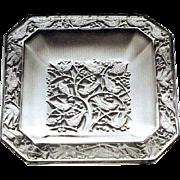 "Lalique ""Anna"" Cendrier, Circa 1950"