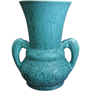 "Roseville Pottery Tourmaline Vase #A332-8"", Turquoise, c. 1933"