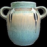 """Roseville Pottery Montacello Vase #560-6"""", Aqua, c. 1931"""