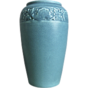 "Rookwood Pottery 9"" Production Vase #2484, Blue, 1919"