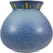 "Roseville Pottery Windsor Vase #547-6"", Blue, c. 1931"