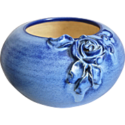 Fulper Pottery Bowl w/Rose, c. 1930