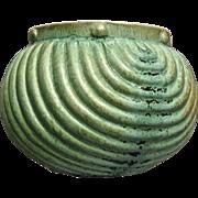 Camark Pottery Bowl #333, Green, Ca. 1938