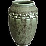 Rookwood Pottery Production Vase #2284, Green Mat, 1925