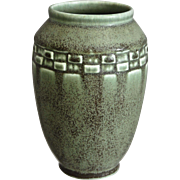 Rookwood Pottery Production Vase #2284, Green Mat, 1925