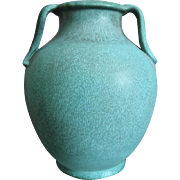 "Weller Pottery Evergreen 12"" Vase, Circa 1930"