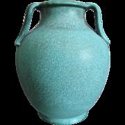 """Weller Pottery Evergreen 12"""" Vase, Circa 1930"""