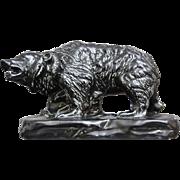 Mosaic Tile Co. Grizzly Bear Figure, c. 1935