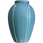 Rookwood Pottery Production Vase #2088, Blue Vellum, 1918