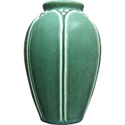Rookwood Pottery Production Vase #2088, Green Mat, 1928