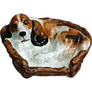 "Royal Doulton Figurine, ""Cocker Spaniel in a Basket"", HN 2585"