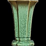 "Cowan Pottery Modernist Vase #V-851, ""Antique Green"", c. 1928"
