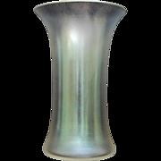 """Verre de Soie Glass 6"""" Vase, Ca. 1940"""