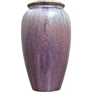 Fulper Pottery Vase #583, Wisteria Glaze, Ca. 1920