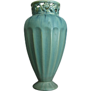 "Fulper Pottery 10"" Vase #4061, Ca. 1930"