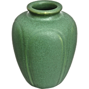Hampshire Pottery Vase #110, Green Matt, Ca. 1915