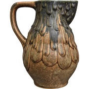 Denbac Pottery Pitcher #412, Circa 1935