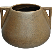 Early Fulper Pottery Jardinière #23, Brown Matte, Ca. 1910