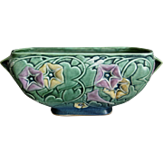 "Roseville Pottery Morning Glory Bowl #271-10"", Green, 1935"