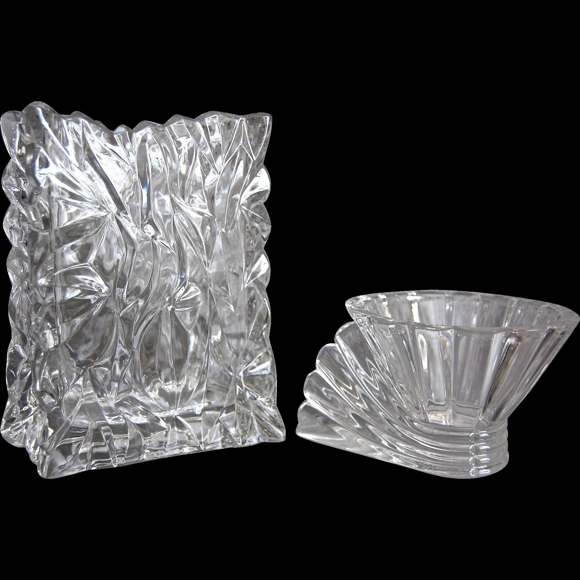 Rosenthal Studio Line Crystal Vase Amp Votive Set From