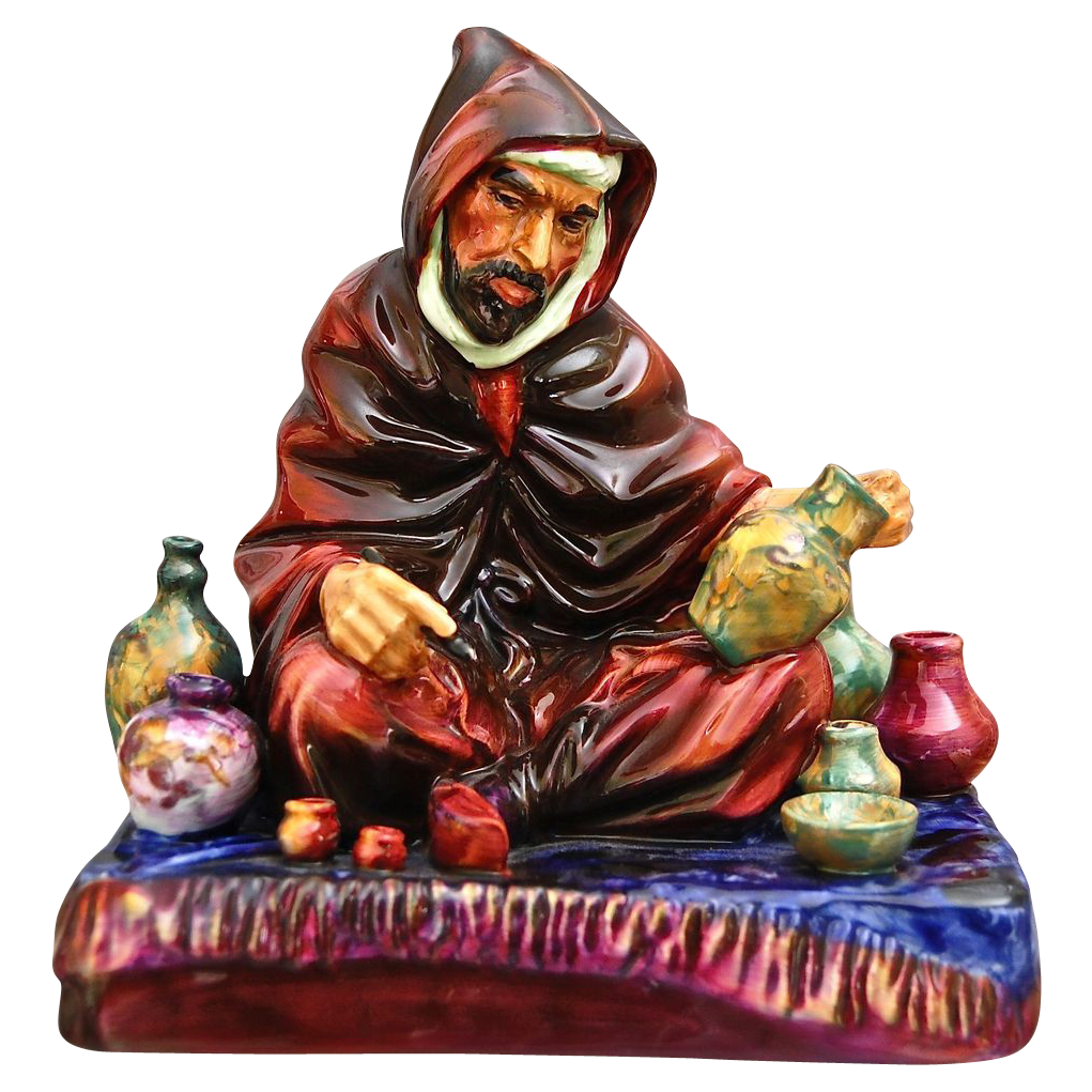 "Royal Doulton Figurine, ""The Potter"", HN 1493"