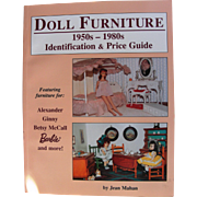 "Out Of Print book ""Doll Furniture 1950-1980's"""