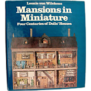 "Vintage Book "" Mansions in Miniature"" by Wilckens"