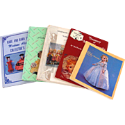 5 Vintage Books on Madame Alexander Dolls