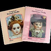 2 Vintage Treasury Of ------ Doll Books