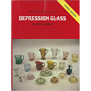 """Vintage Book """" The Collectors Encyclopedia of Depression Glass"""""""