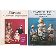 2 vintage Books on EFFANBEE Dolls