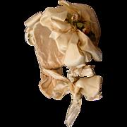 Antique Fabulous Baby / Doll Bonnet