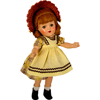 "Late 1930's Madame Alexander 13""  ""Flora McFlimsey"""