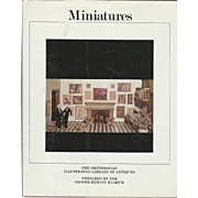 """1983 Book """" Miniatures"""" by the Smithsonian"""