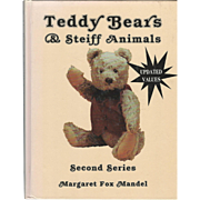 "1992 Book ""Teddy Bears & Steiff Animals"" by Mandel"