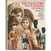 """Book """"Collectors Encyclopedia of Dolls"""" Vol 2"""