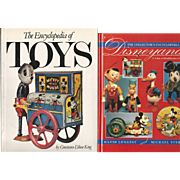 2  Books on Vintage Toys,Disney