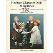 "1992 Book ""Heubach Character Dolls & Figurines"" by Richter"