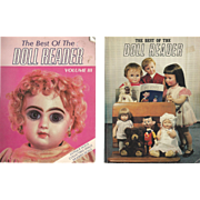 "2 Books "" The Best of Doll Reader """